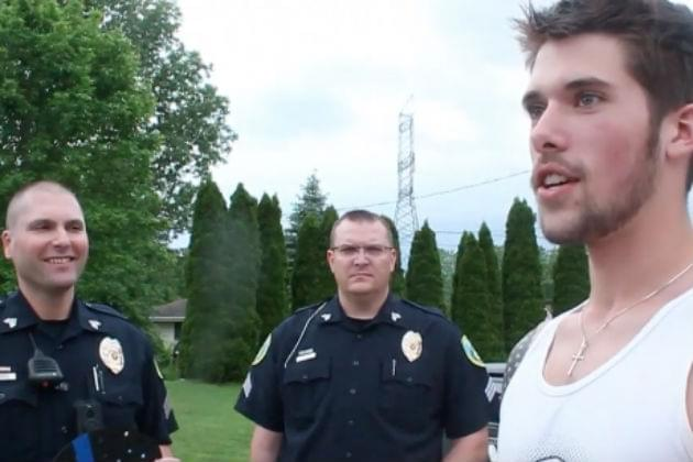 Micah Schieber Surprised By Midland Police