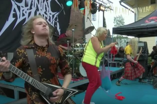 The Heavy Metal Knitting Championship is a Sight to Behold [VIDEO]