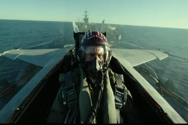 Tom Cruise Is Back In the Cockpit for 'Top Gun: Maverick' [VIDEO]