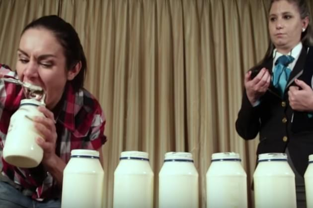 Watch This Woman Eat Four Jars of Mayonnaise In Just Three Minutes [VIDEO]
