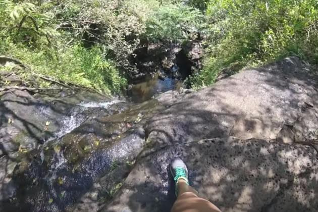 This Woman Was Wearing A Go-Pro When She Fell 50 Feet Down A Waterfall [VIDEO]