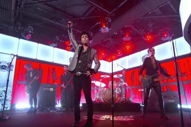 Watch Green Day Perform 'Father Of All…' On Jimmy Kimmel Live [VIDEO]