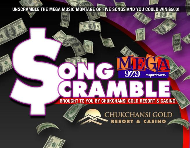Play the Mega Song Scramble and you could win $500 Contest