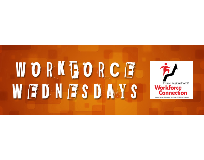Tune in for Workforce Wednesdays!