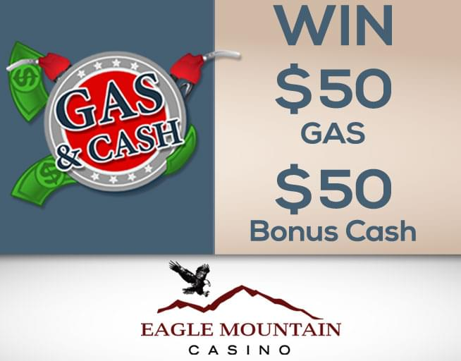 Enter win the Eagle Mountain Gas & Cash Giveaway.
