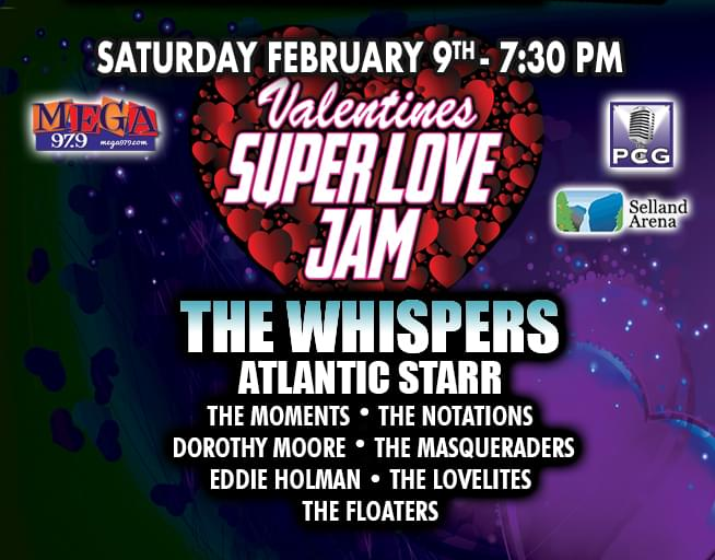 Win Tickets to Mega Valentine's Super Love Jam!