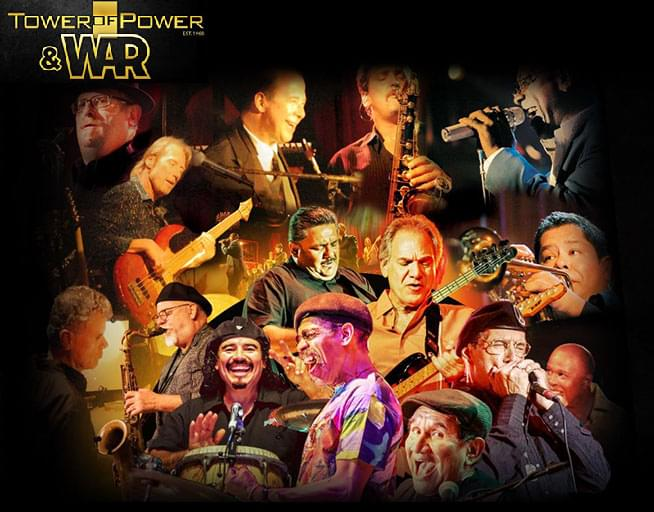 October 10: Tower of Power and War