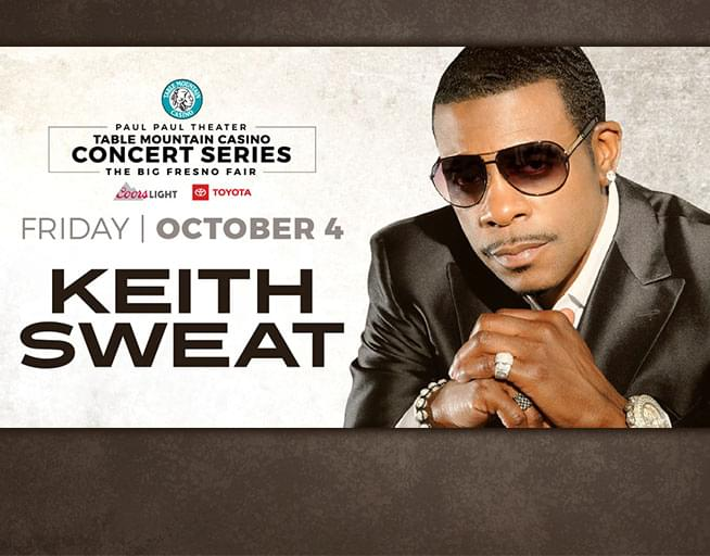 October 4: Keith Sweat