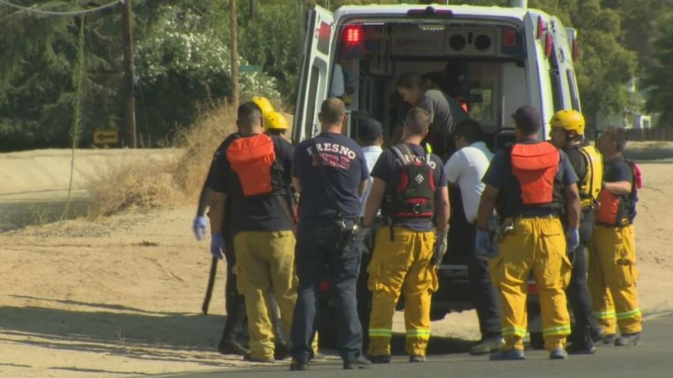 Woman Pulled From Canal In Central Fresno