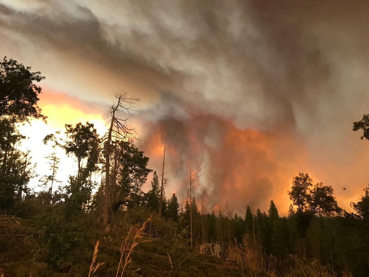 Full Containment Reached On Ferguson Fire