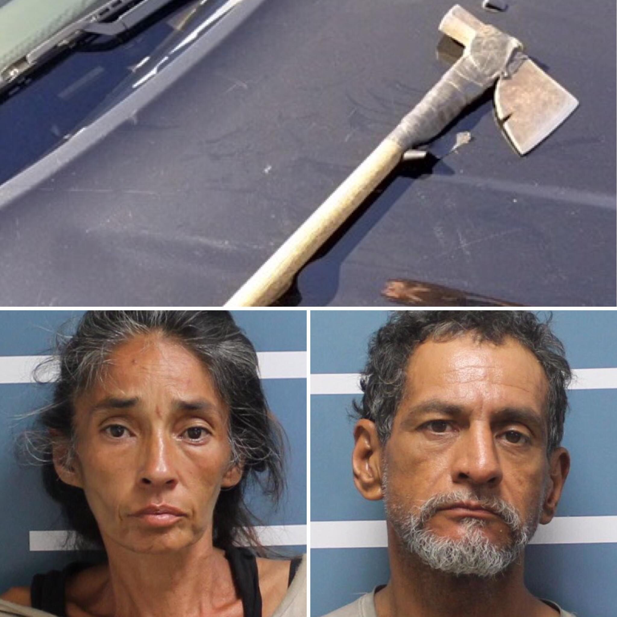 South Valley Couple Accused in Attempted Axe Attack