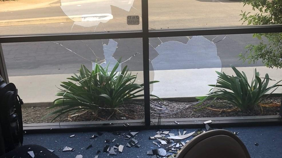 Visalia Campaign Office of Congressional Candidate Andrew Janz Vandalized