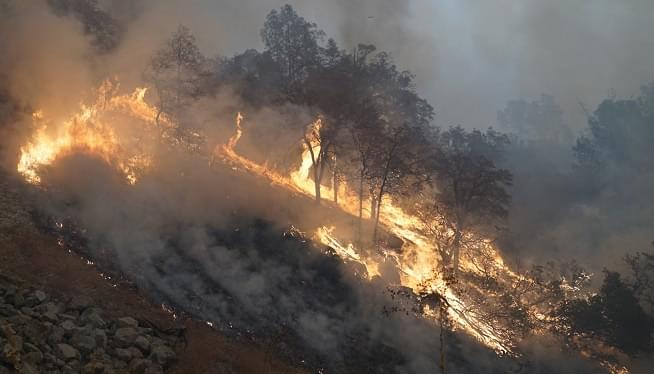 """Valley Family's Home Destroyed In Camp Fire – """"It's A Little Unreal"""""""