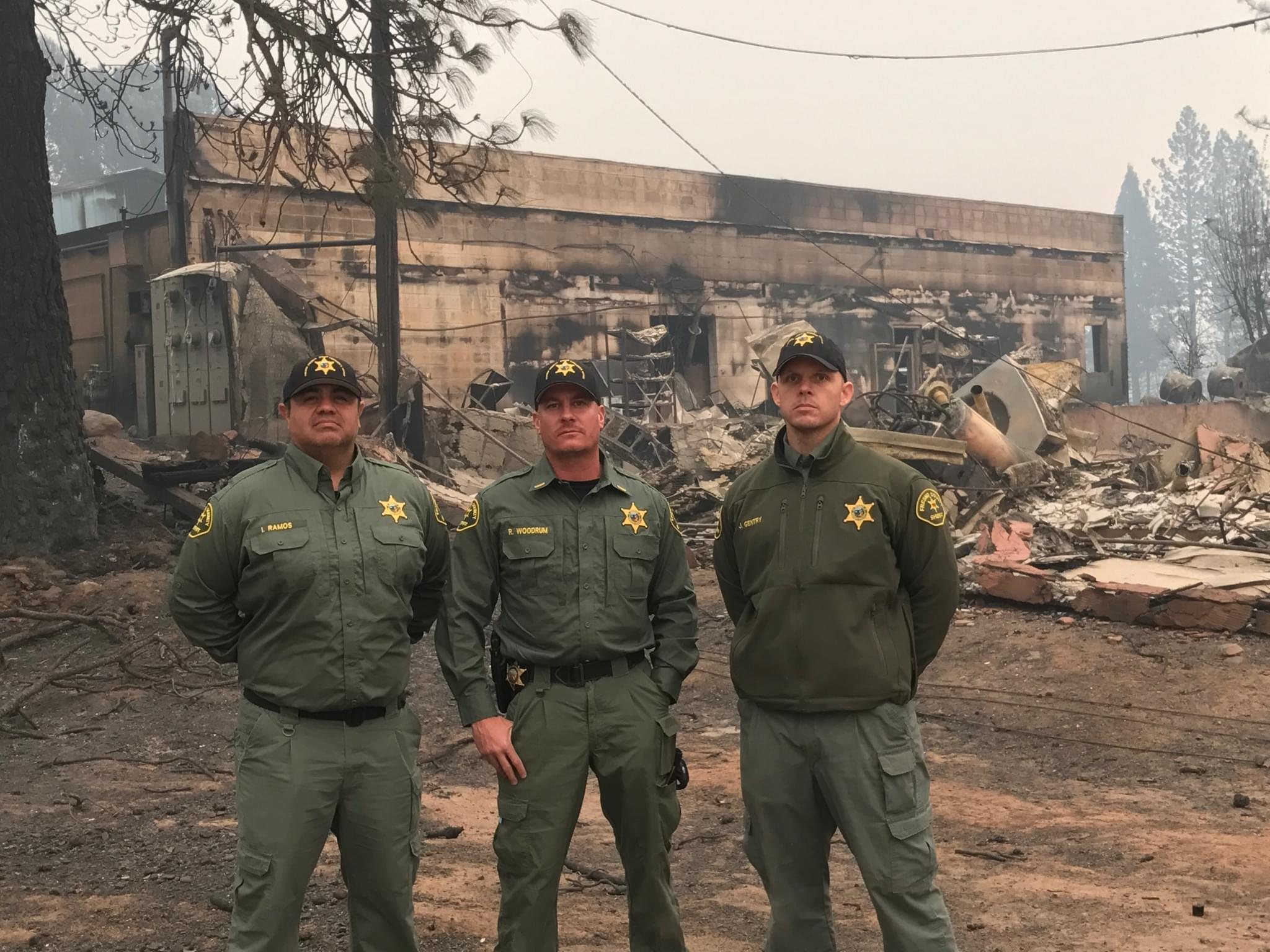 Fresno County Sheriff-Coroner Staff Assists Camp Fire Recovery Efforts in Butte County