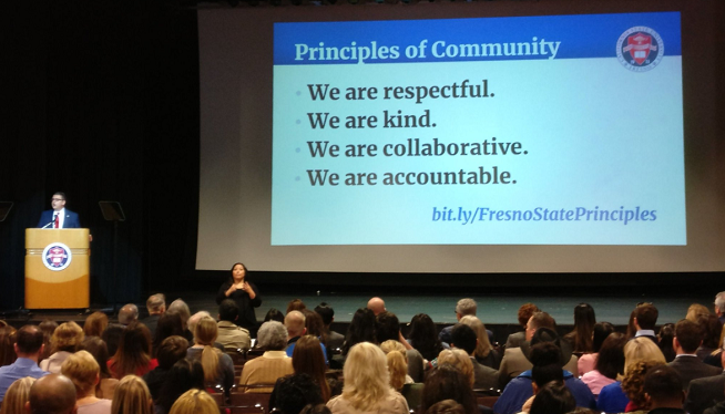 """Fresno State Unveils Guidelines To """"Exemplify What We Aspire To Be"""""""