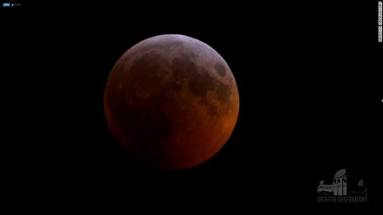 Sky-gazers Treated to Rare 'Super Blood Wolf Moon'