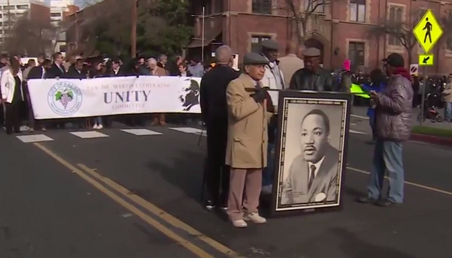 Martin Luther King's Legacy Celebrated In Downtown Fresno