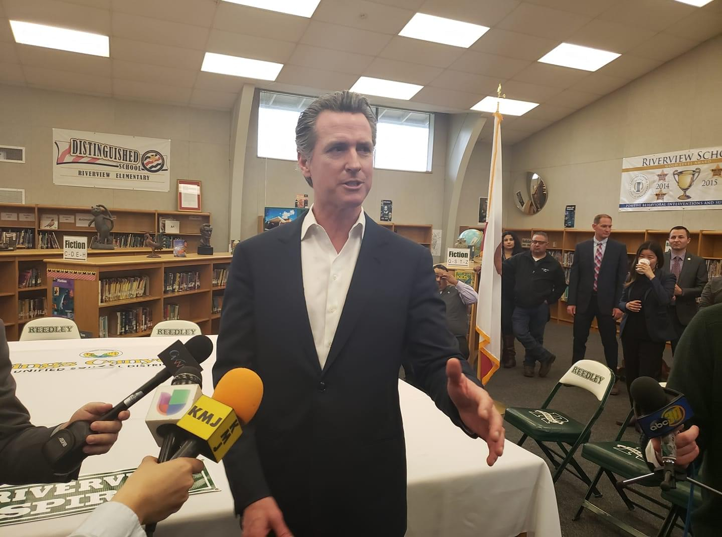 Newsom Seeks $10 Fee To Clean Up Tainted Water