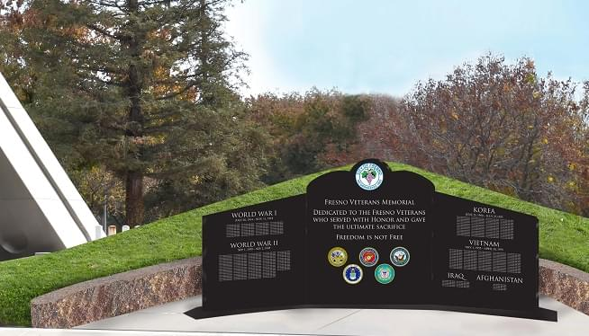 Unanimous Support For Veterans Memorial Outside Fresno City Hall