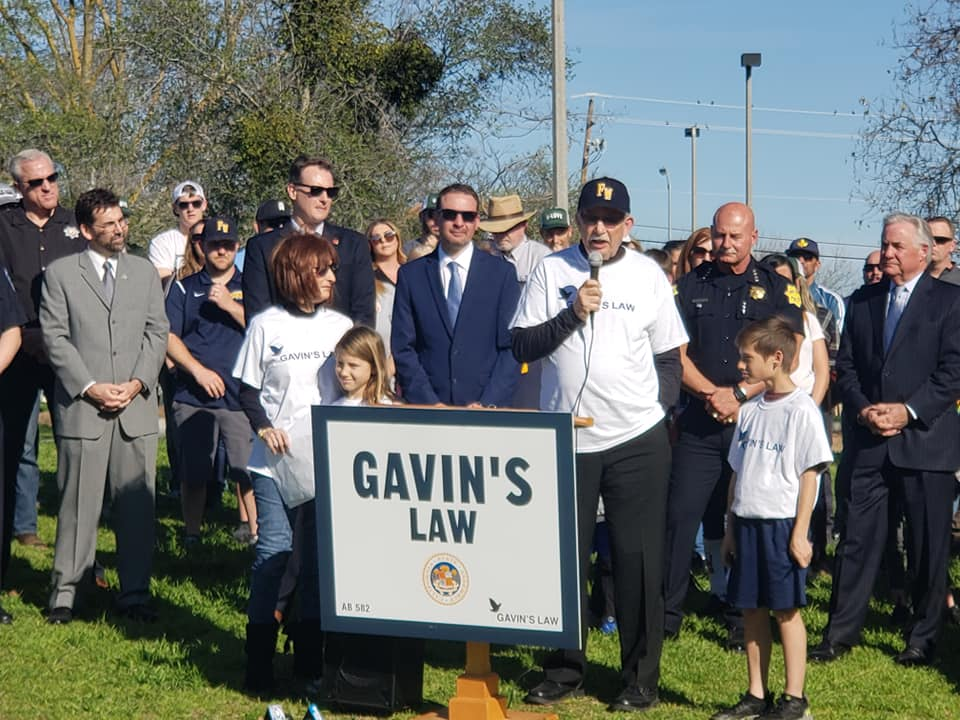 Gavin's Law Rally Draws Hundreds of Community Members in Support
