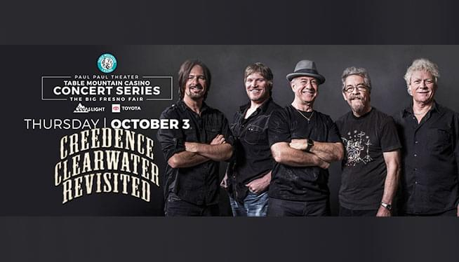 October 3: Creedence Clearwater Revisited