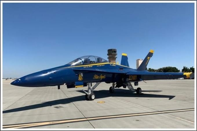 Blue Angels To Perform at NAS Lemoore Air Show