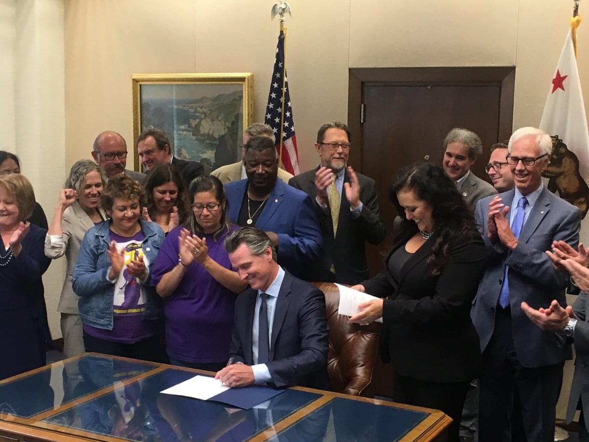 """Governor Signs """"Gig Worker"""" Bill Into Law"""