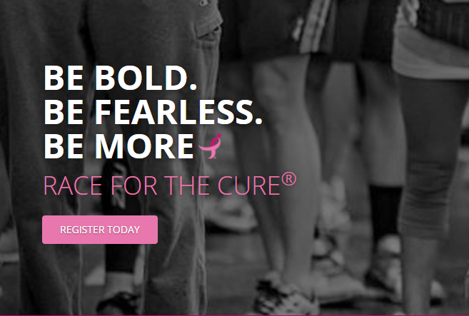 October 7: Komen Central Valley Race for the Cure 2018