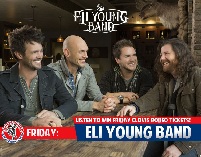 Listen to Win Friday Clovis Rodeo tickets with Eli Young Band!