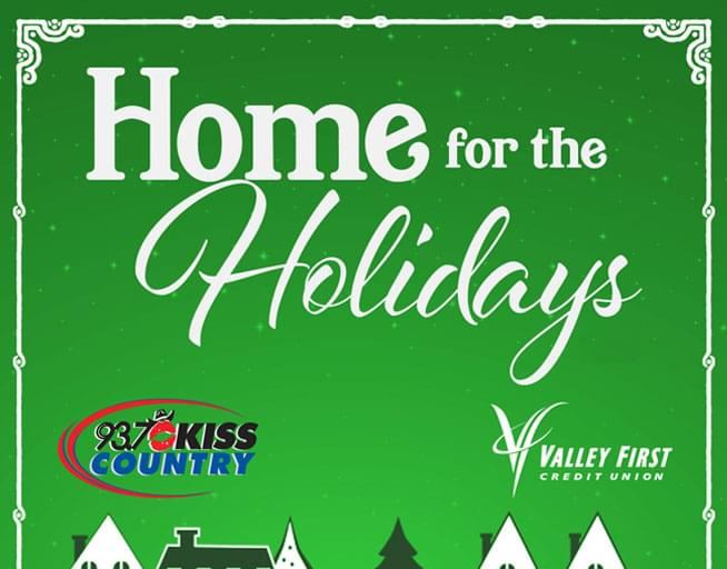 Win a trip Home for the Holidays!