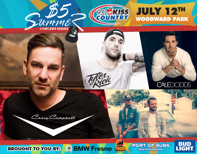 July 12: Third Kiss Country $5 Summer Concert 2018