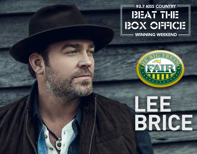 Winning Weekend: Win tickets to see Lee Brice!