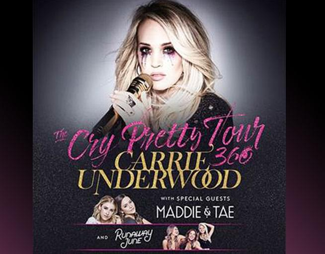 May 12: Carrie Underwood