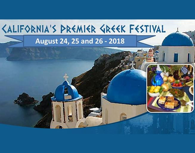 Enter to win your tickets to the Fresno Greek Festival!