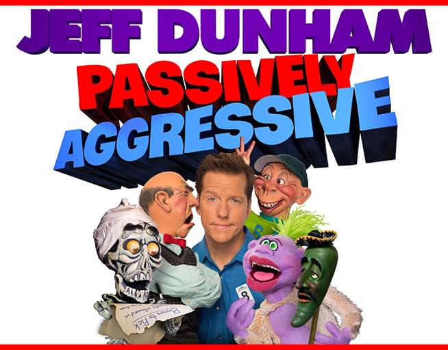 Jeff Dunham First Five Rows!