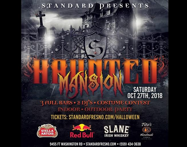 October 27: The 11th Annual Haunted Mansion Halloween Party