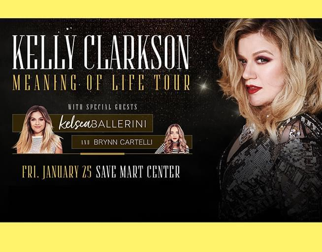 January 25:  Kelly Clarkson