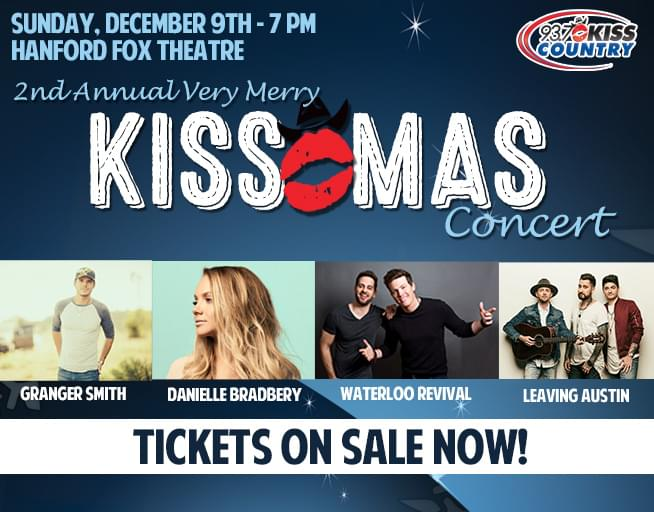 December 9: The Second Annual Very Merry Kiss-Mas Concert