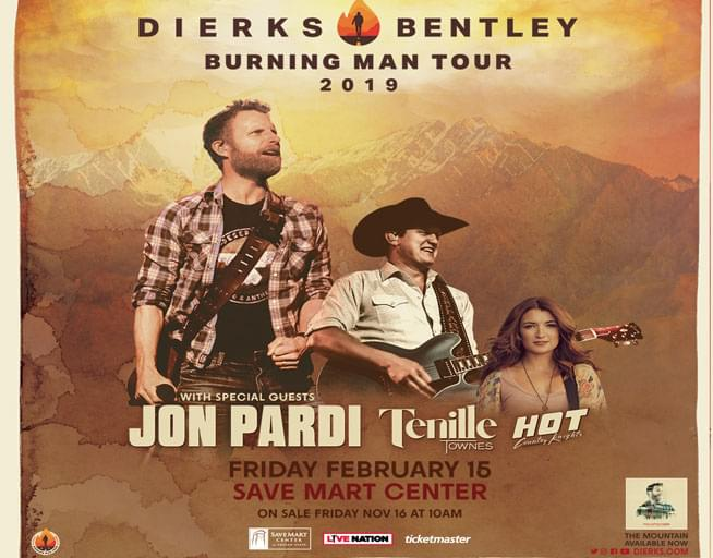 February 15: Dierks Bentley