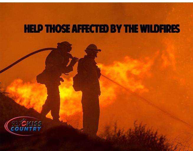 HELP THE NORTHERN CALIFORNIA WILDFIRE VICTIMS