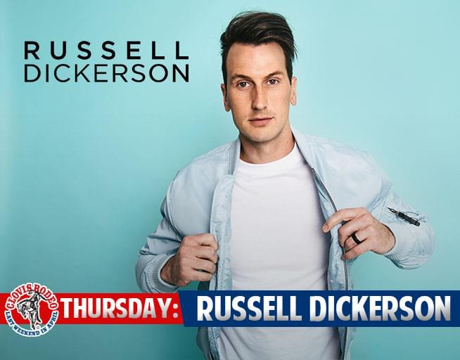 April 25: Russell Dickerson
