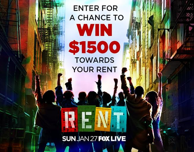 Win $1,500 to Pay Your Rent!