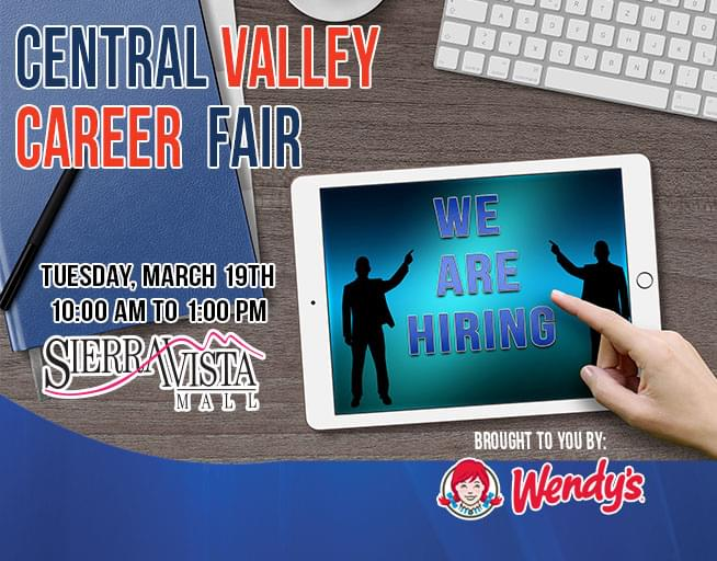 March 19: 2019 Central Valley Career Fair