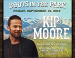 Kip Moore Boots in the Park
