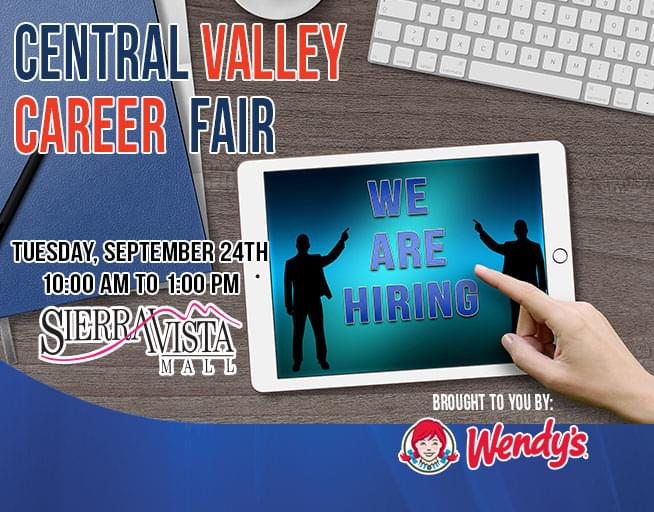 September 24: 2019 Central Valley Career Fair