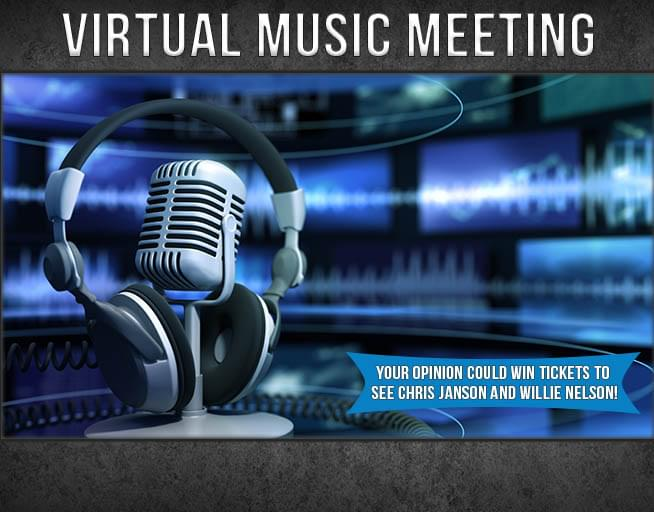Virtual Music Meeting: Chris Janson and Willie Nelson Giveaway!