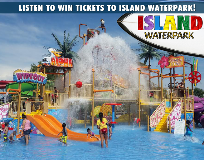 Win tickets to the Island Waterpark!