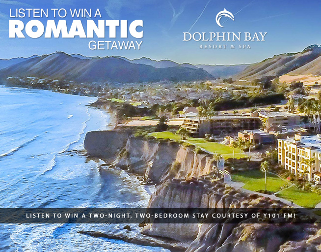 Listen to win a stay at Dolphin Bay Resort and Spa!