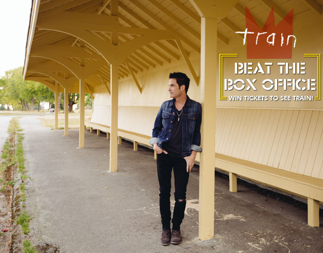Win tickets to Train before you can buy 'em!