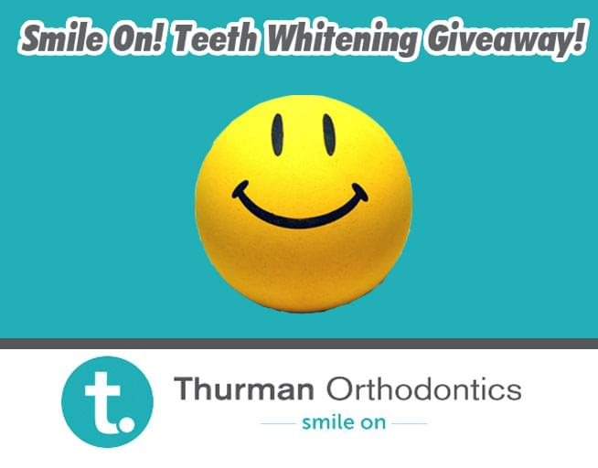Smile On! Teeth Whitening Giveaway!
